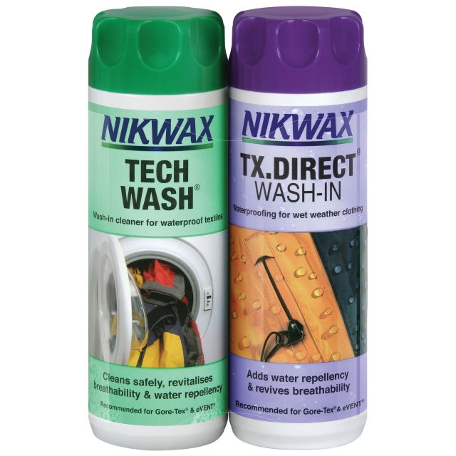 Nikwax Twin pack Tech Wash Direct