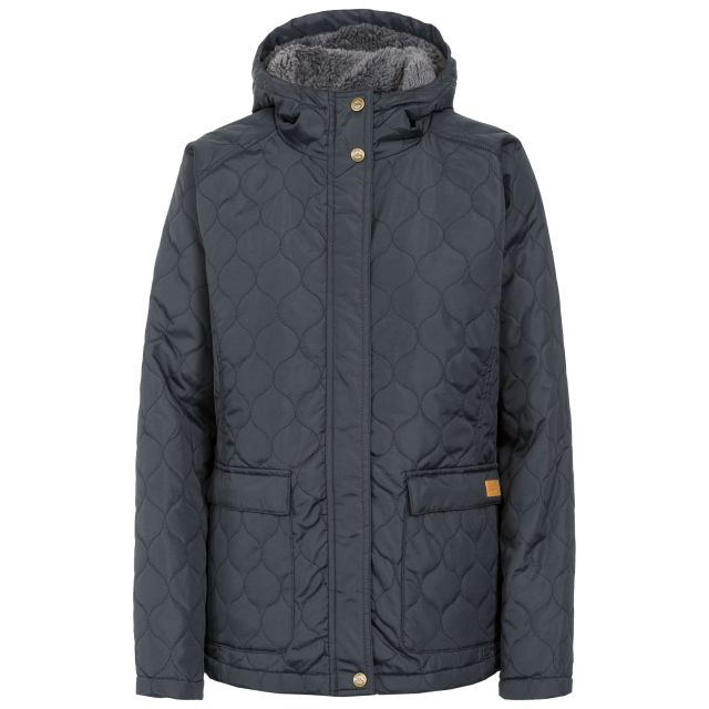Tempted Women's Hooded Down Jacket in Black