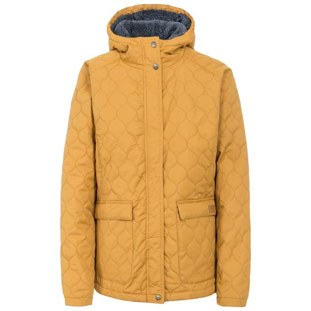 Tempted Women's Hooded Down Jacket in Yellow