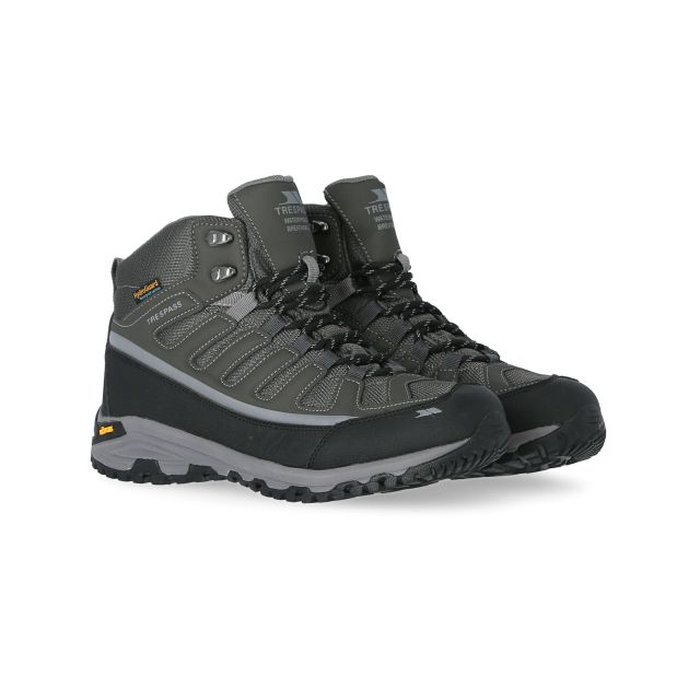 Tennant Men's Vibram Walking Boots in Grey