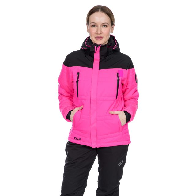 Thandie Women's DLX Waterproof Ski Jacket in Pink