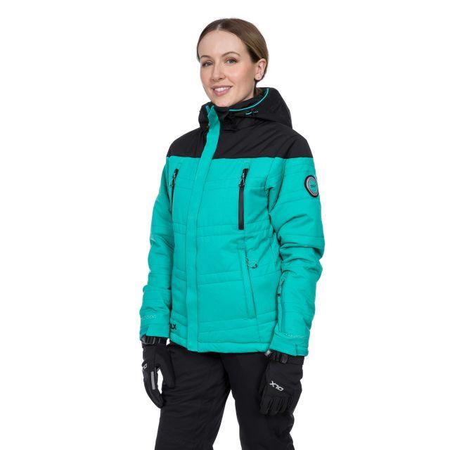 Thandie Women's DLX Waterproof Ski Jacket in Green