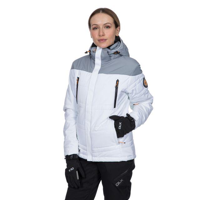 Thandie Women's DLX Waterproof Ski Jacket in White