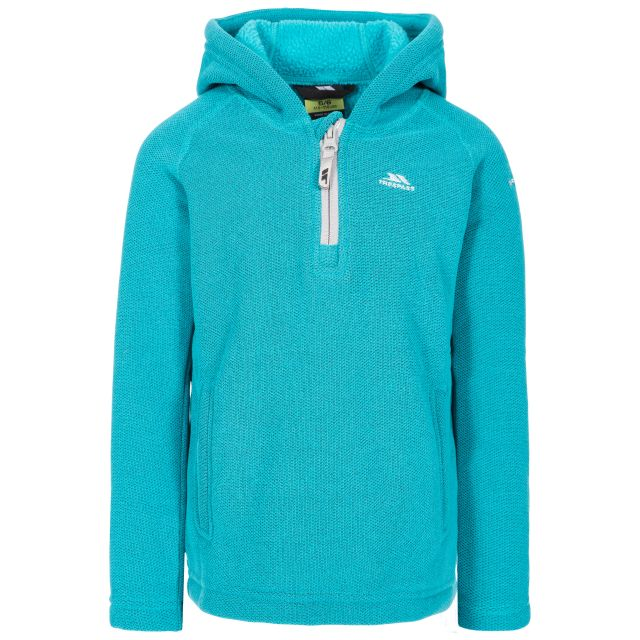 Thunda X Kids' Fleece Hoodie in Blue