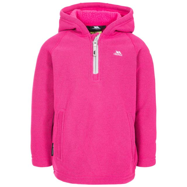 Thunda X Kids' Fleece Hoodie in Pink