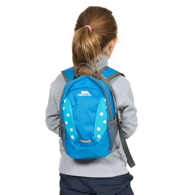 Tiddler Kids' Blue 3L Novelty Backpack in Blue