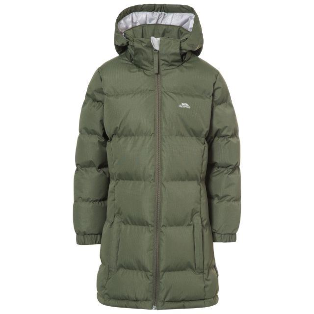 Tiffy Girls' Padded Casual Jacket in Khaki