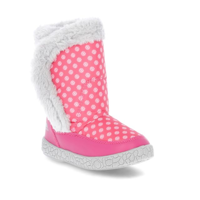 Baby Girls' Snow Boots in Pink