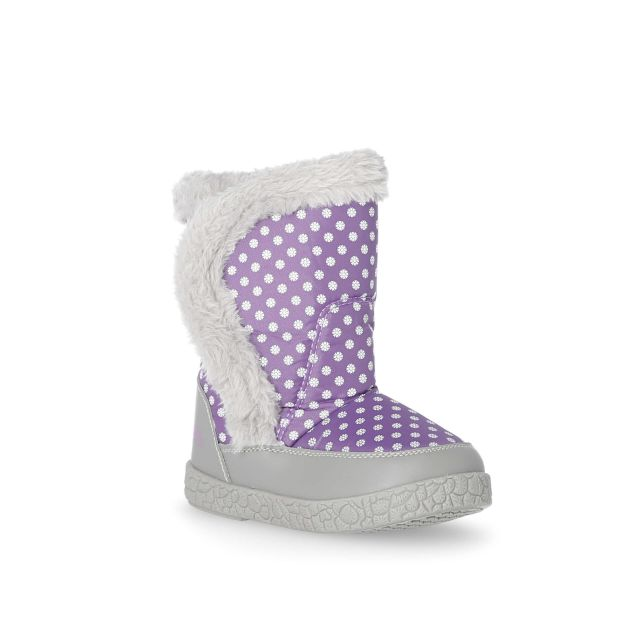 Baby Girls' Snow Boots in Light Purple