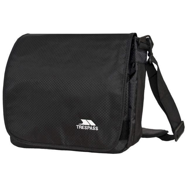 Timur  Black 9 Litre Messenger Bag