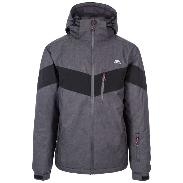 Tinlaw Men's Waterproof Ski Jacket in Grey