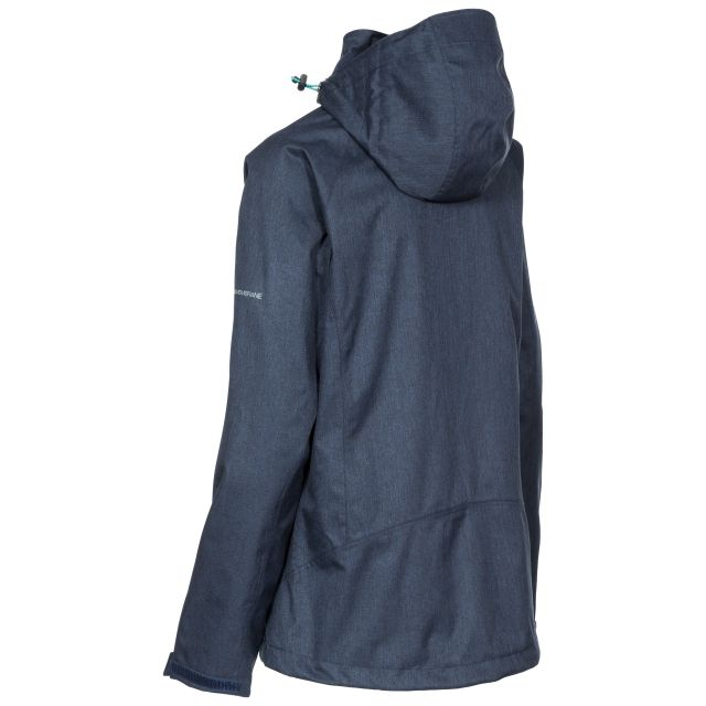 Tiya Women's DLX High Performance Waterproof Jacket in Navy