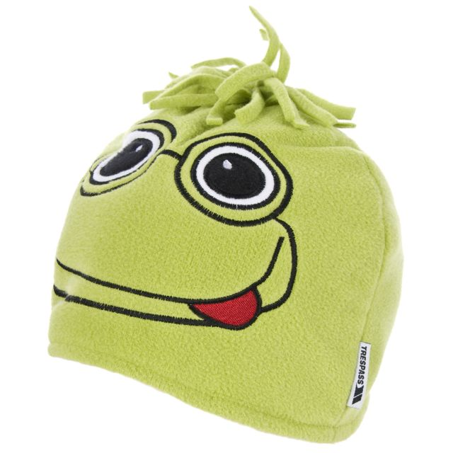 Toadey Kids' Novelty Beanie Hat in Neon Green