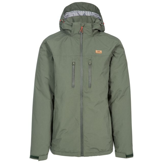 Toffit Men's Hooded Waterproof Jacket in Green