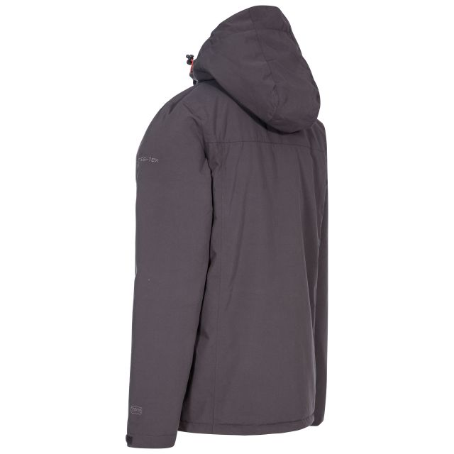 Toffit Men's Hooded Waterproof Jacket in Grey