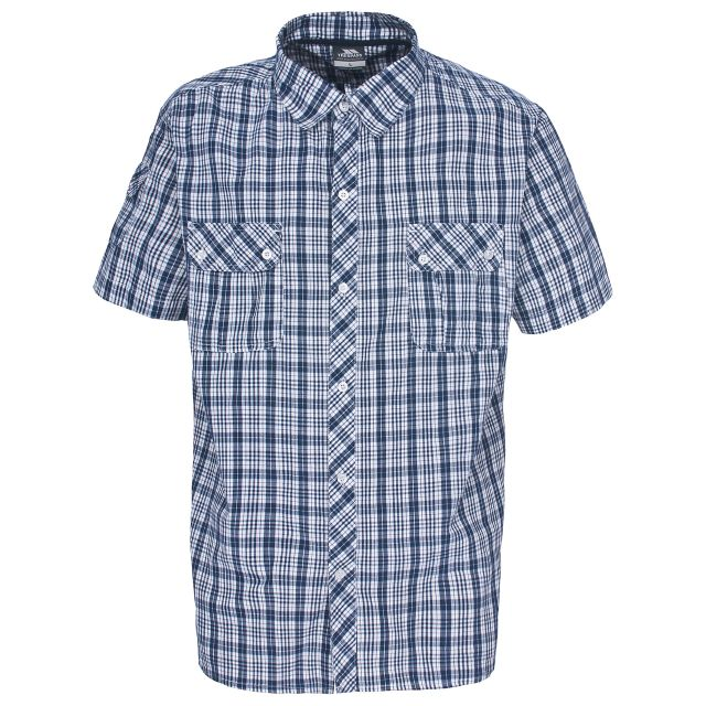 Tolpis Men's Short Sleeve Checked Shirt