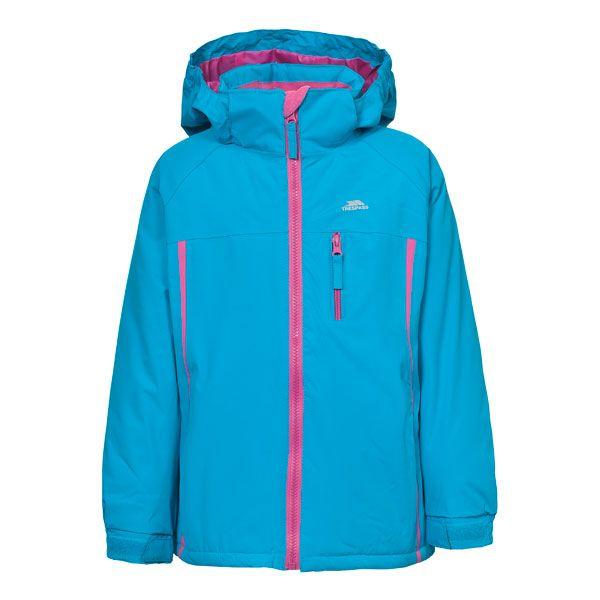 Tomboy Girls Waterproof Jacket in Blue