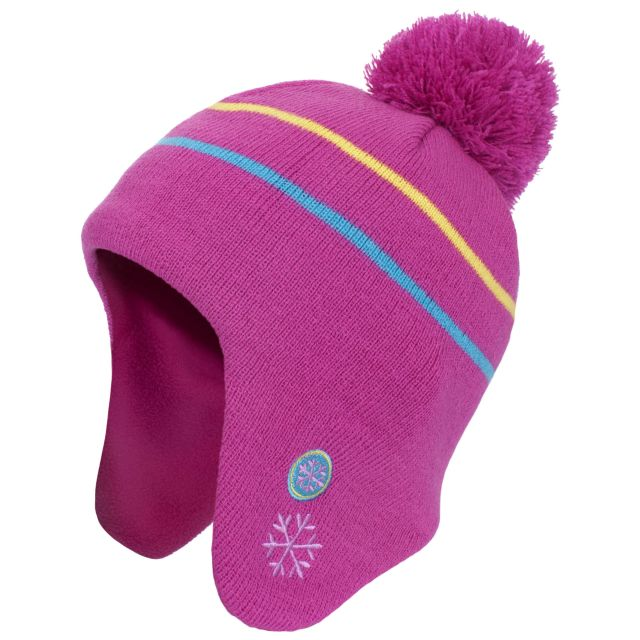 Toodles Babies' Bobble Hat in Pink