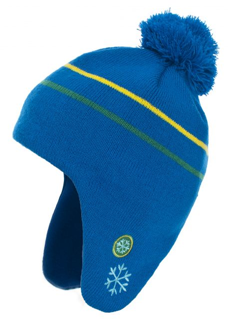 Toodles Babies' Bobble Hat in Blue