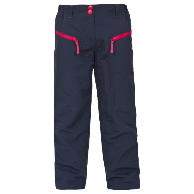Torie Kids' Water Resistant Walking Trousers in Black