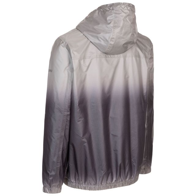 Trespass Men's Ombre Waterproof Jacket Toronto Platinum