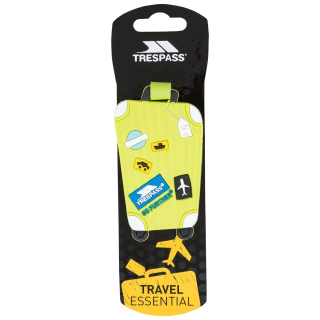 TRAVELTAG Luggage Tags in Neon Green