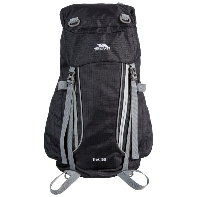 Trek 33L Rucksack in Black