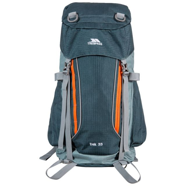 Trek 33L Rucksack in Olive Green