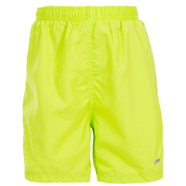 Trey Kids' Shorts in Kiwi