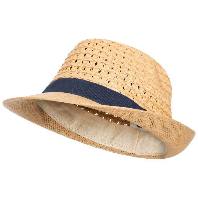 Trilby Kids' Straw Hat in Beige