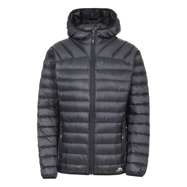 Trisha Women's Down Packaway Jacket in Black