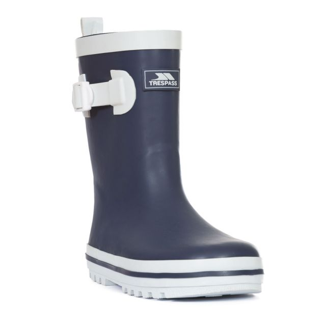 Trumpet Kids' Navy Wellies