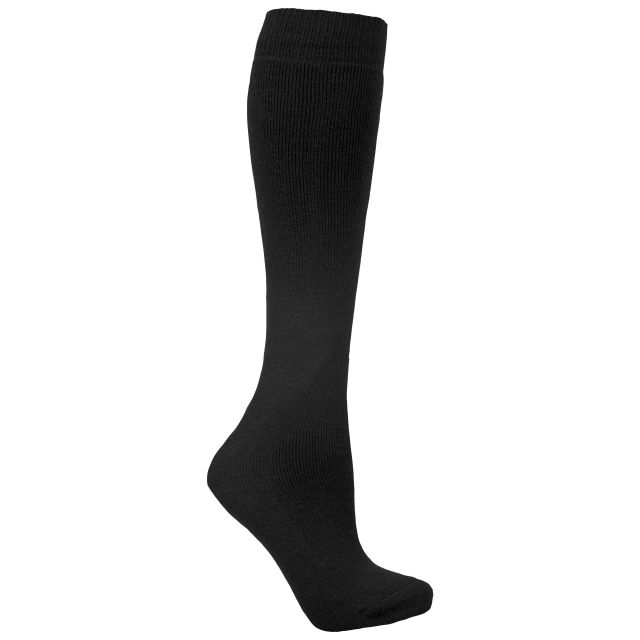 Tubular Adults' Tube Socks in Black