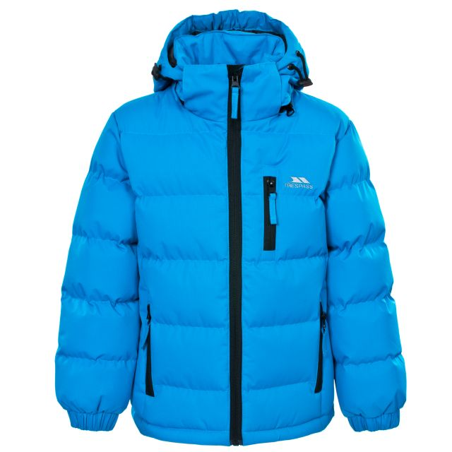 Tuff Boys' Padded Casual Jacket in Blue