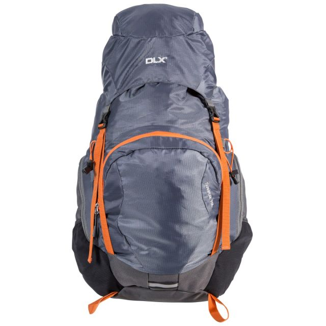 Twinpeak DLX 70L Rucksack in Grey