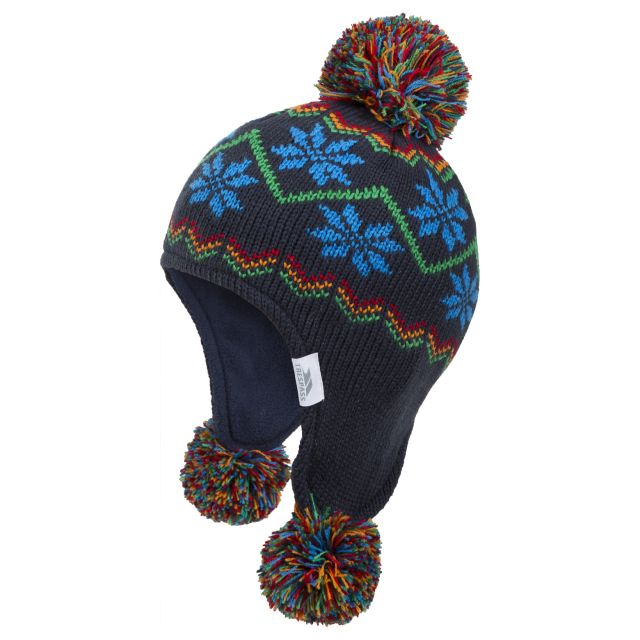 Twizzle Babies Ear Warmer Hat in Navy