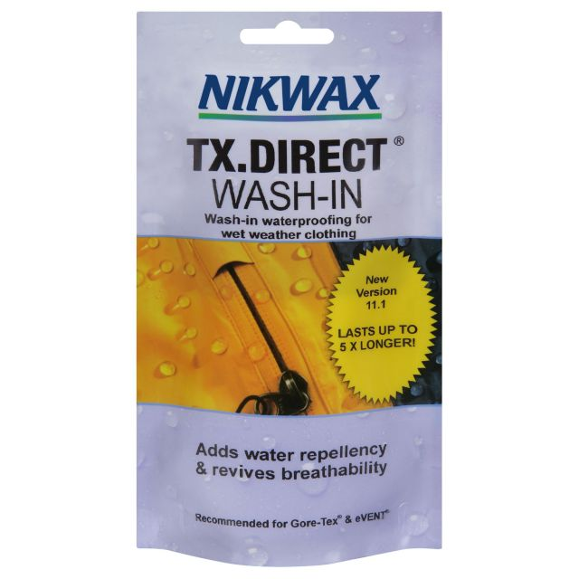 Nikwax TX Direct Wash In Waterproofer Single Dose in Assorted