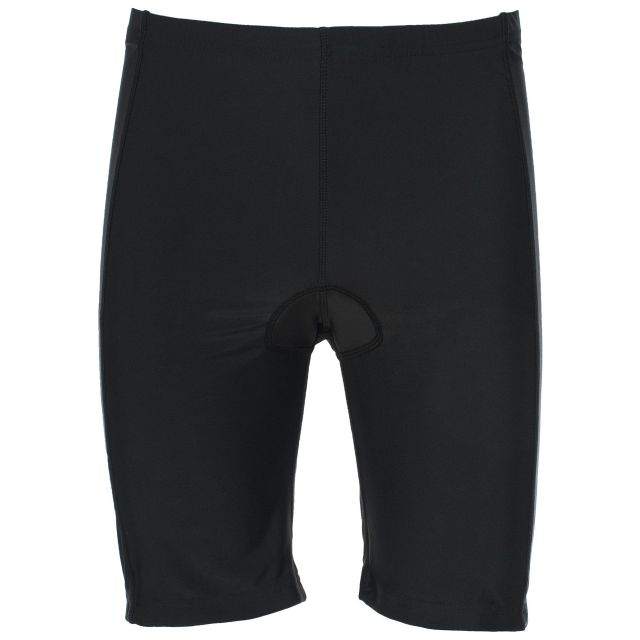 Decypher Unisex Padded Cycling Shorts in Black