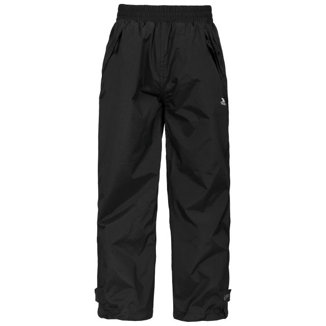 Echo Kids' Waterproof Trousers in Black