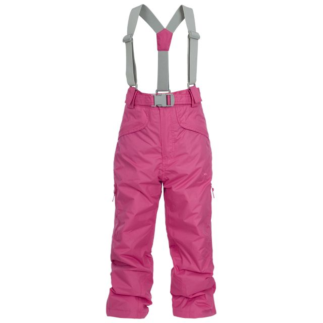 Marvelous Kids' Insulated Salopettes in Pink