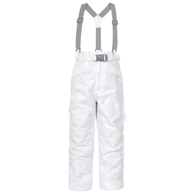 Marvelous Kids' Insulated Salopettes in White