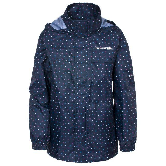 Totam Kids' Waterproof Packaway Jacket  in Navy