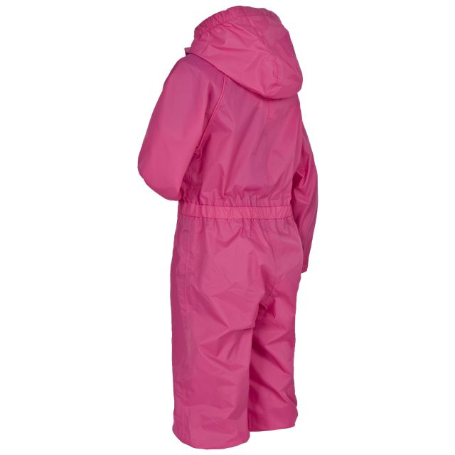 Button Babies' Rain Suit in Pink