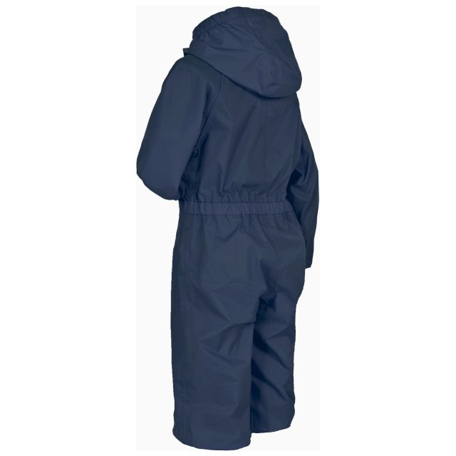 Button Babies' Rain Suit in Navy