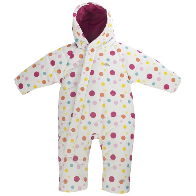 Balu Babies Padded Snow Suit in White