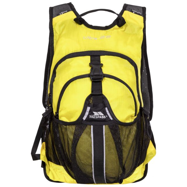 Ultra 22L Orange Cycling Hydration Backpack in Yellow