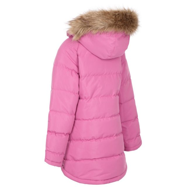 Trespass Kids Water Resistant Padded Jacket Pink Unique