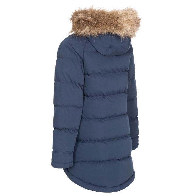Trespass Kids Water Resistant Padded Jacket in Navy Unique