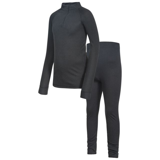 Unite360 Kids' Thermals in Black