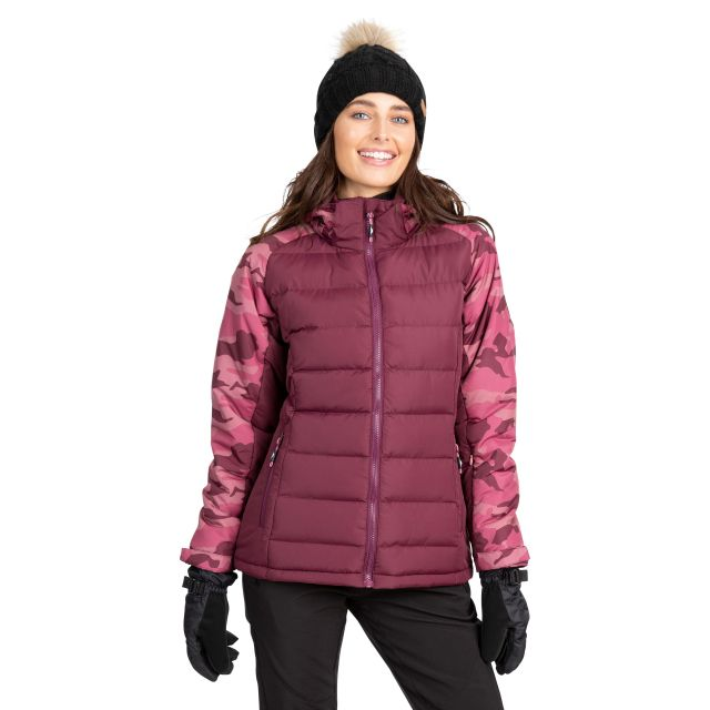 Urge Women's Windproof Ski Jacket in Purple